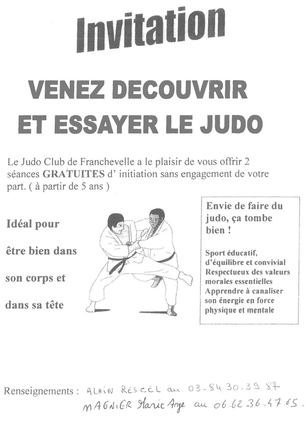 Judo Club Franchevelle