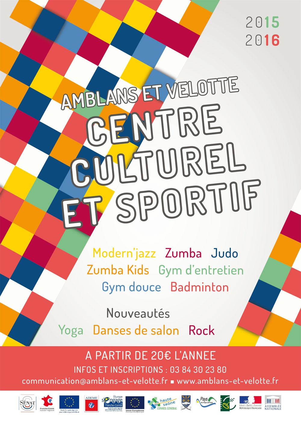 Saison du Centre culturel et sportif d'Amblans et Velotte